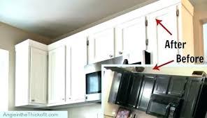 kitchen cabinet door trim molding adding trim to cabinet doors adding crown molding to kitchen
