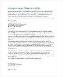 recommendation letter sample for university admission deboline com