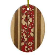 vintage hawaiian ornaments keepsake ornaments zazzle