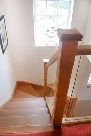 case study an new open tread oak u0026 glass staircase in berkshire