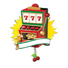 slot machine with coins ornament callisters