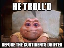 Baby Sinclair Meme - baby sinclair the first troll dinosaurs tv pinterest
