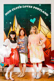 the modcloth irl tour has arrived in portland