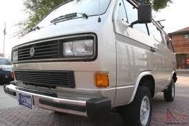 volkswagen vanagon 1987 volkswagen vanagon syncro standard passenger van 3 door 2 1l