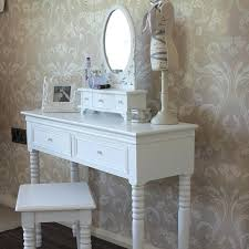White Vanity Table With Mirror 4 Drawer Dressing Table With Mirror Dressing Table With Mirror