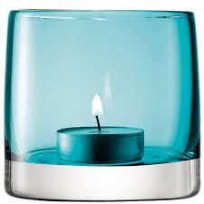 lsa light colour tealight holder designer turquoise tea light