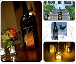 wine bottle hurricane lanterns for gifts wedding centerpieces