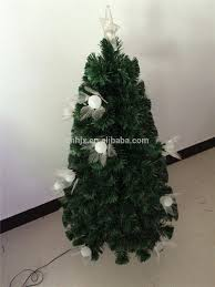 color changing luxury twinking led pvc fiber optic christmas tree