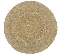 round jute rug natural pottery barn