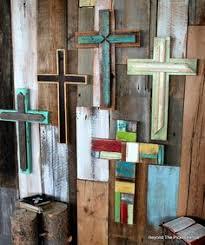 rustic crosses rustic reclaimed wood crosses http bec4 beyondthepicketfence