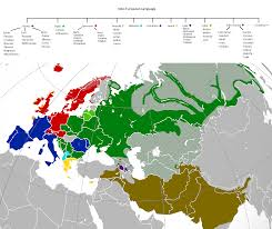 World Language Map by Indo European Language Map 1765x1481 Mapporn