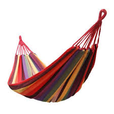 sports toy swings with bag portable hammock colorful stripe garden