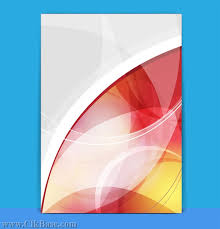 red abstract background design template book cover album vector
