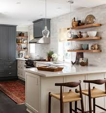 open shelving in kitchen ideas kitchen open shelving why wall works for kitchens with regard to