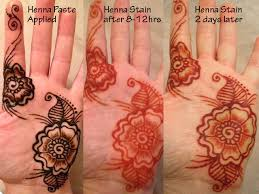 electronic glow in the dark henna kit noveltystreet