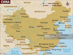 Bay Of Bengal Map Map Of China Stock Illustration Getty Images