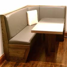 Corner Kitchen Furniture by Kitchen Nice Espresso Style Corner Kitchen Table With Beige Pad