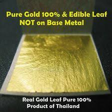 where to buy edible gold leaf edible gold leaf crafts ebay
