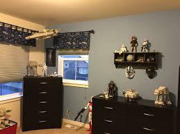 Star Wars Bedroom Furniture by Go Inside One Family U0027s U0027star Wars U0027 Themed Bedroom Abc News