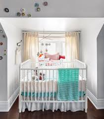 pretty crib skirts in nursery contemporary with modern baby crib