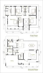 sketchup modeling home design plan size 14x11m sam architect