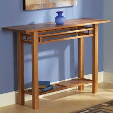 Craftsman Furniture Plans Hall Table Woodworking Plan Home Furniture Project Plan Wood