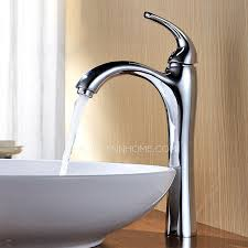 Cheap Vessel Faucets Bathroom Incredible Brushed Nickel Vessel Sink Faucet Faucets