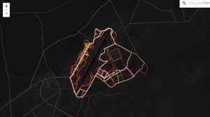 Bagram Air Base Map Fitness Tracking Map U0027exposes Us Bases U0027 Loop News