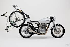 not your everyday carry a yamaha xs650 with a bike rack bike exif