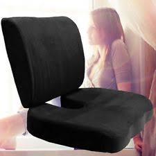 Back And Seat Cushion Memory Foam Seat Cushion Ebay