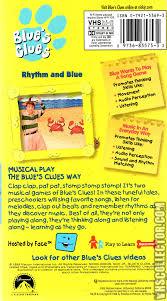 blue u0027s clues rhythm and blue vhscollector com your analog