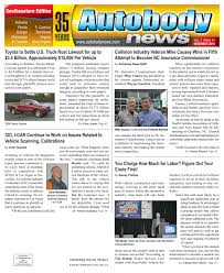 lexus body shop kernersville nc december 2016 southeastern edition by autobody news issuu