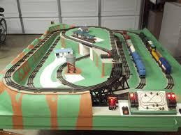 lionel train layouts lionel o gauge train layout 3 rail o