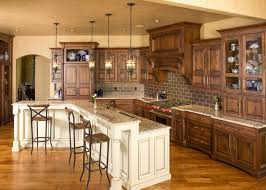 Best Color Kitchen Cabinets Kitchen Cabinets Colors Image Of Kitchen With Cherry Cabinets