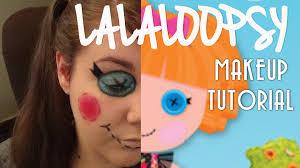 Lalaloopsy Halloween Costumes Easy Lalaloopsy Ragdoll Makeup Tutorial 13 Halloween