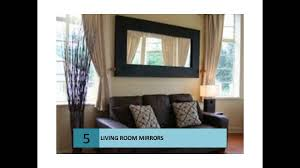 mirrors for living room modern mirrors for living rooms youtube