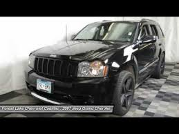 jeep grand for sale mn 2007 jeep grand srt8 forest lake mn t15267a