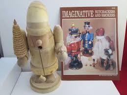 zims unpainted wooden santa nutcracker smoker diy christmas craft