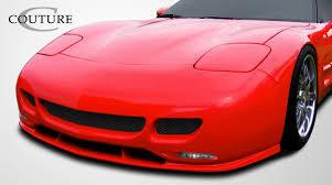 c5 corvette front spoiler 108122 1997 2004 chevrolet corvette c5 couture ts edition front