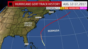 United States Storm Map by Hurricane Gert Was A Wave Generator For Us And Canada East Coasts