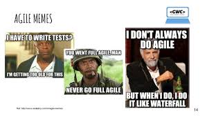 Agile Meme - agile scrum training