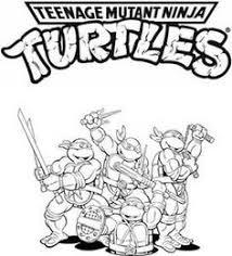 teenage mutant ninja turtles michelangelo fighting fiercely