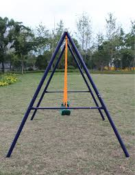 Flexible Flyer Lawn Swing Frame by Amazon Com Movement God Metal A Frame Two Seat Swing Set Toys