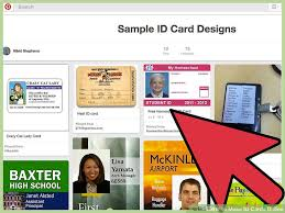 make cards online how to make id cards online 12 steps with pictures wikihow