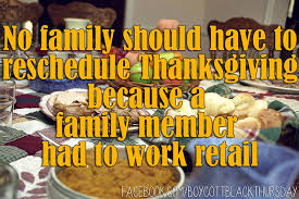 thanksgiving thursday to open or shopper culture