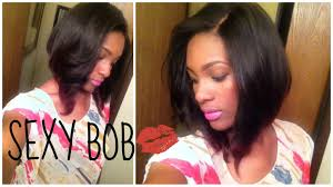 can you cut the weave hair off my sexy new bob p1 cut layer youtube