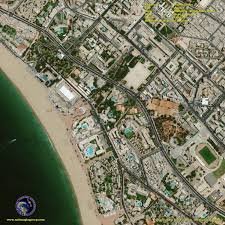 Satellite View Map Satellite Image Of Agadir Morocco Satellite Images Gis Remote