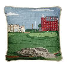 st needlepoint pillow smathers branson