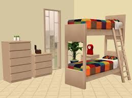 2 Bunk Beds Mod The Sims Ikea Bunk Beds And More
