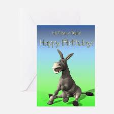 funny twin birthday greeting cards cafepress